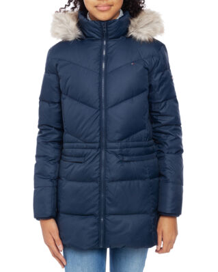 Tommy Hilfiger Junior Dg Essential  Down Coat Black Iris