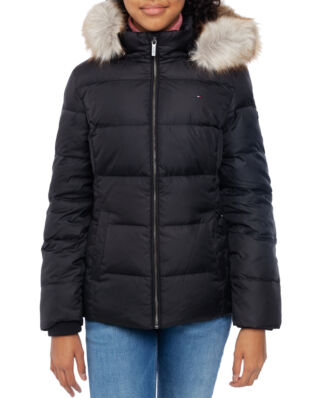 Tommy Hilfiger Junior Essential Basic Down Jacket Tommy Black