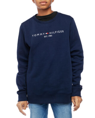 Tommy Hilfiger Junior Essential Cn Sweatshirt Set 1 Black Iris