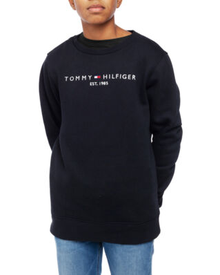Tommy Hilfiger Junior Essential Cn Sweatshirt Set 1 Tommy Black