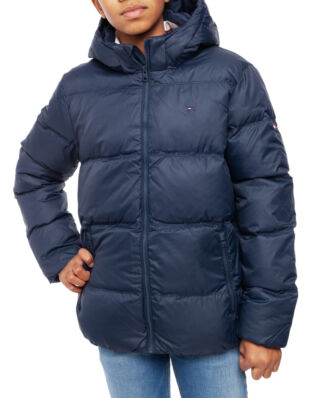 Tommy Hilfiger Junior Essentials Down Jacket Black Iris