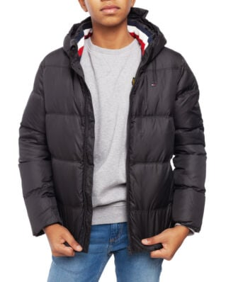 Tommy Hilfiger Junior Essentials Down Jacket Tommy Black