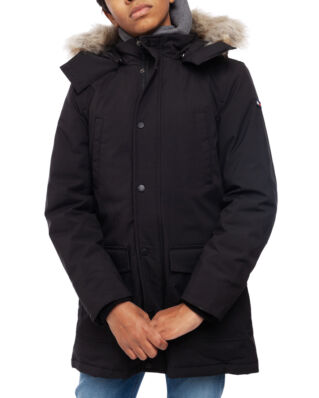 Tommy Hilfiger Junior Tech Parka Tommy Black