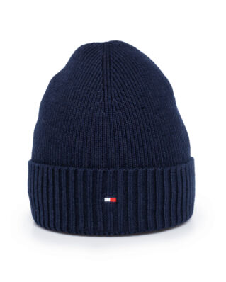 Tommy Hilfiger Pima Cotton Beanie Sky Captain