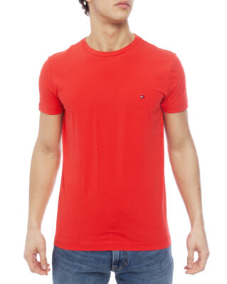 Tommy Hilfiger Stretch Slim Fit Tee Tomato