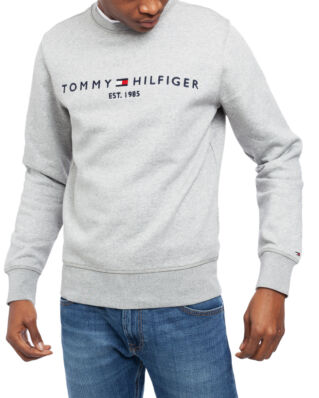 Tommy Hilfiger Tommy Logo Sweatshirt Cloud Heather