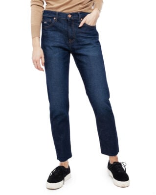 Tommy Jeans High Rise Slim Izzy Crop Acdk Ace Dk Bl Com