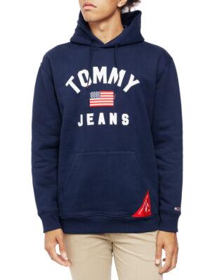 Tommy Jeans Tjm Americana Hoodie Black Iris
