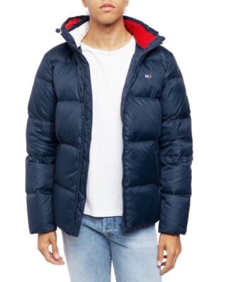 Tommy Jeans Tjm Essential Down Jacket Black Iris