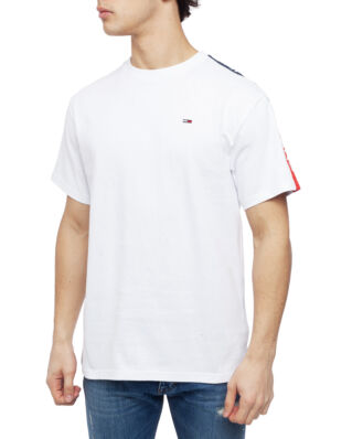 Tommy Jeans Tjm Sleeve Graphic Tee Classic White