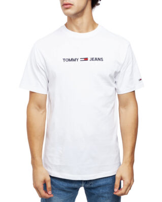 Tommy Jeans Tjm Small Logo Tee Classic White