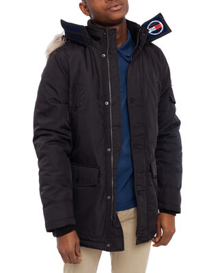 Tommy Jeans Tjm Tech Parka Tommy Black