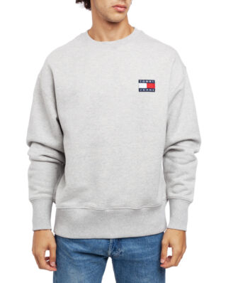Tommy Jeans Tjm Tommy Badge Crew Light Grey Heather