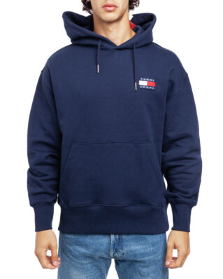 Tommy Jeans Tjm Tommy Badge Hoodie Black Iris