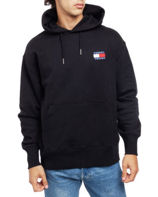 Tommy Jeans Tjm Tommy Badge Hoodie Tommy Black