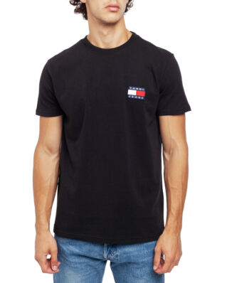 Tommy Jeans Tjm Tommy Badge Tee Tommy Black