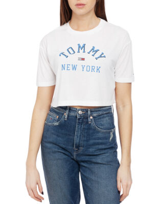 Tommy Jeans Tjw Collegiate Tee Classic White