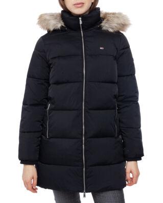 Tommy Jeans Tjw Modern Puffa Coat Tommy Black