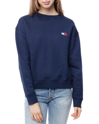 Tommy Jeans Tjw Tommy Badge Crew Black Iris