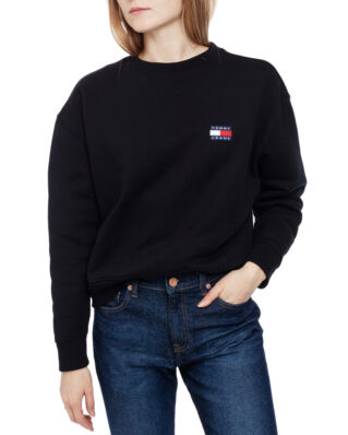 Tommy Jeans Tjw Tommy Badge Crew Tommy Black