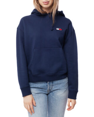 Tommy Jeans Tjw Tommy Badge Hoodie Black Iris