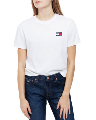 Tommy Jeans Tjw Tommy Badge Tee Classic White