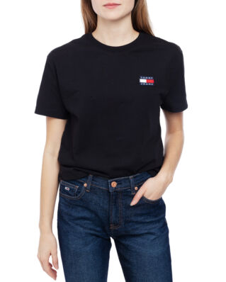 Tommy Jeans Tjw Tommy Badge Tee Tommy Black