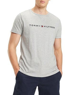 Tommy Hilfiger Core Tommy Logo Tee Cloud Htr