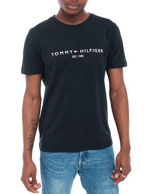 Tommy Hilfiger Core Tommy Logo Tee Jet Black