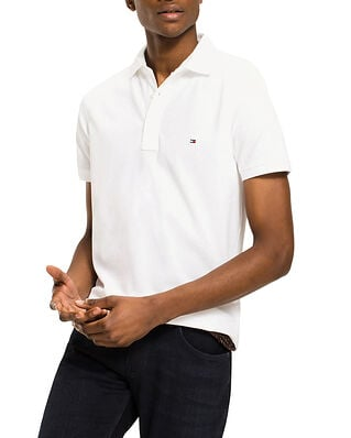 Tommy Hilfiger Core Tommy Slim Polo Bright White