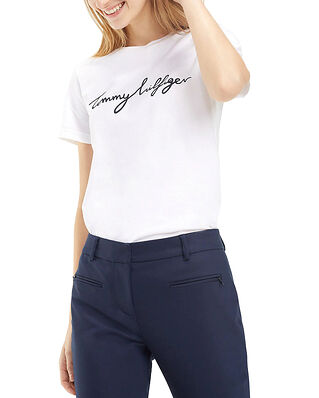 Tommy Hilfiger Heritage Crew Neck Classic White
