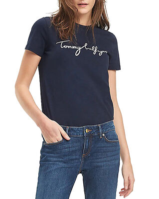Tommy Hilfiger Heritage Crew Neck Midnight