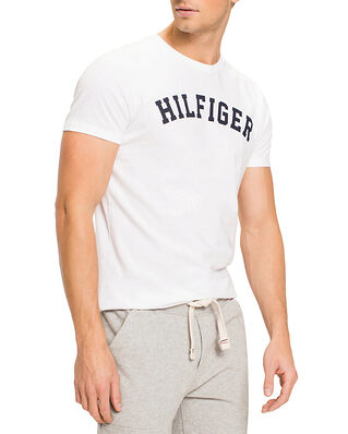 Tommy Hilfiger SS Tee Logo White