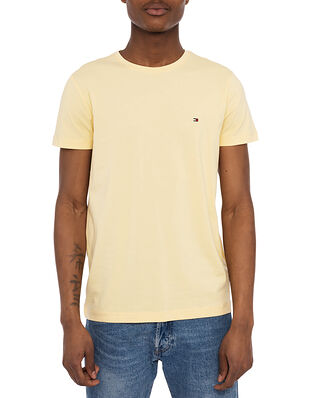 Tommy Hilfiger Stretch Slim Fit Tee Delicate Yellow