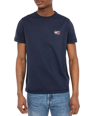 Tommy Hilfiger Tjm Chest Logo Tee Twilight Navy