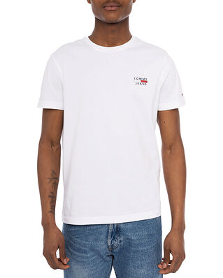 Tommy Hilfiger Tjm Chest Logo Tee White