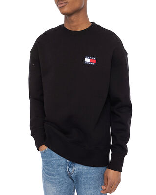 Tommy Hilfiger Tjm Tommy Badge Crew Black