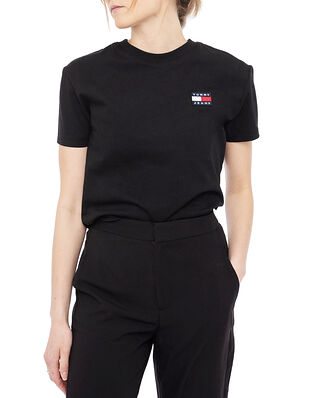 Tommy Hilfiger Tjm Tommy Badge Tee Black