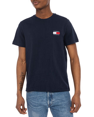 Tommy Hilfiger Tjm Tommy Badge Tee  Twilight Navy