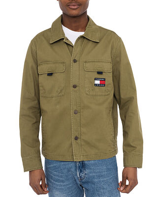 Tommy Hilfiger Tjm US Back Graphic Olive