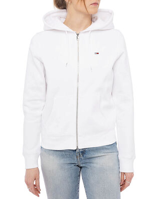 Tommy Hilfiger Tjw Regular Zip Hoodie White