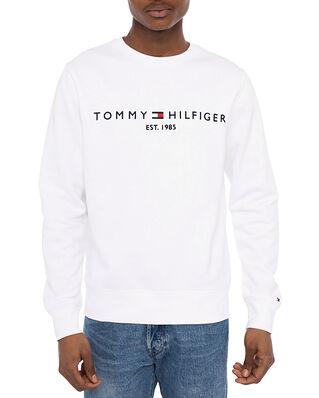 Tommy Hilfiger Tommy Logo Sweatshirt White