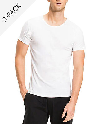 Tommy Hilfiger CN Tee SS 3 Pack White