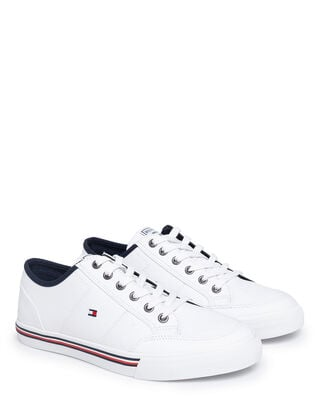 Tommy Hilfiger Core Corporate Texile Sneaker White