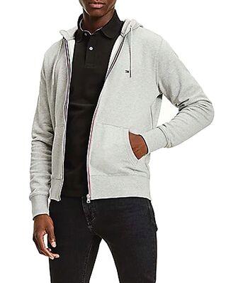 Tommy Hilfiger Core Cotton Zip Hood M Grey