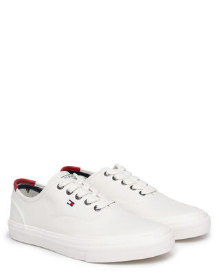 Tommy Hilfiger Core Oxford Twill Sneaker Ivory