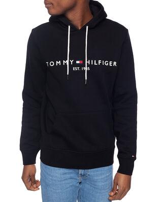 Tommy Hilfiger Core Tommy Logo Hoody Jet Black