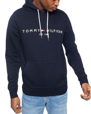 Tommy Hilfiger Core Tommy Logo Hoody Sky Captain