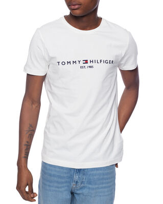 Tommy Hilfiger Core Tommy Logo Tee Snow White