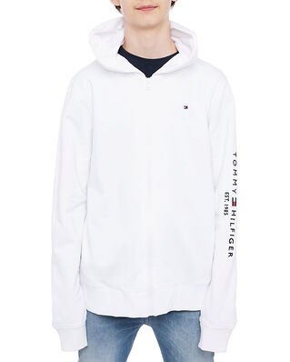 Tommy Hilfiger Essential Hooded Zip Through White